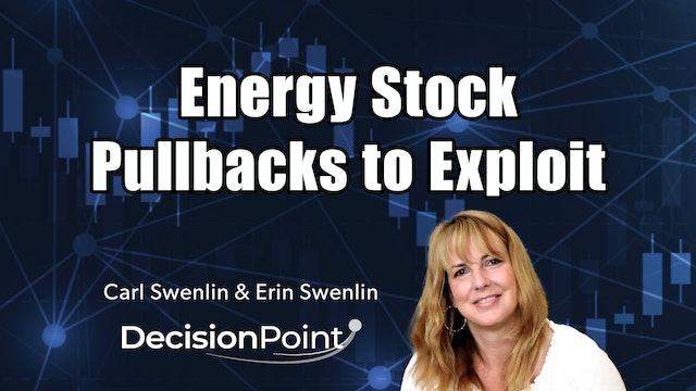 Energy Stocks Pullbacks to Exploit | Carl Swenlin & Erin Swenlin (05.10)