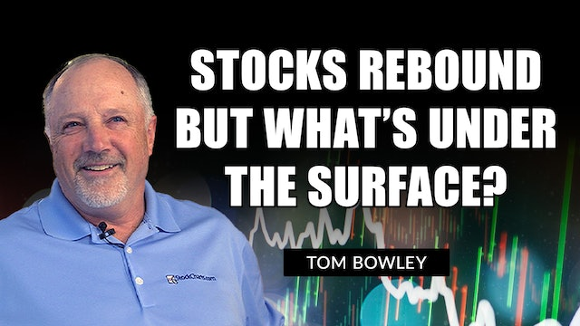 Rebound Day For U.S. Equities But What's Under The Surface?   Tom Bowley (10.07)