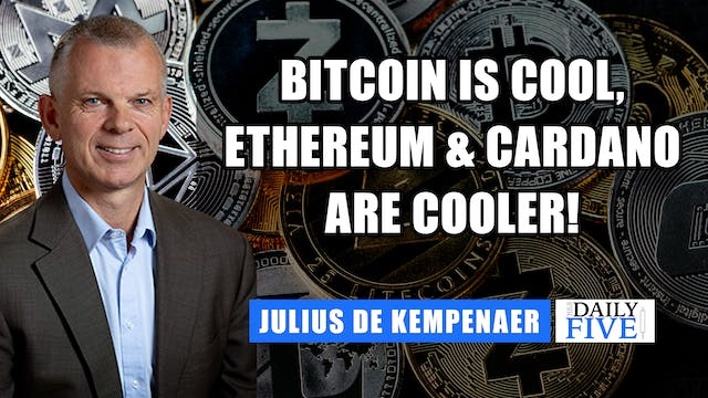 Bitcoin is Cool, Ethereum & Cardano a...