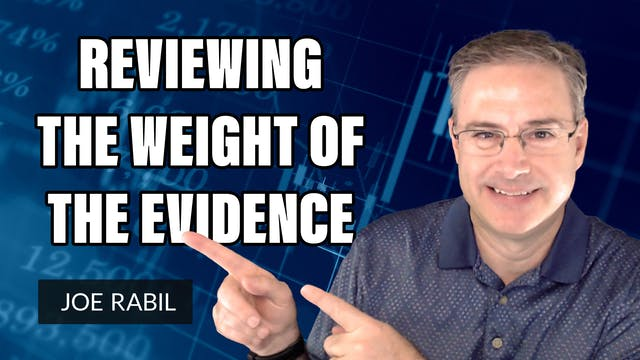 """Reviewing The """"Weight of the Evidence..."""