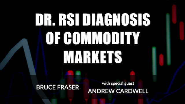 Dr. RSI's Diagnosis of Commodity Markets | Bruce Fraser with Andrew Cardwell