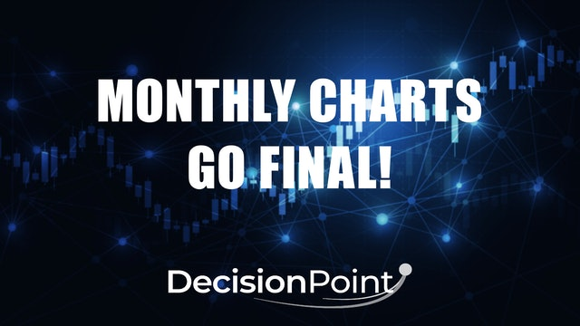 Monthly Charts Go Final! (11.30)