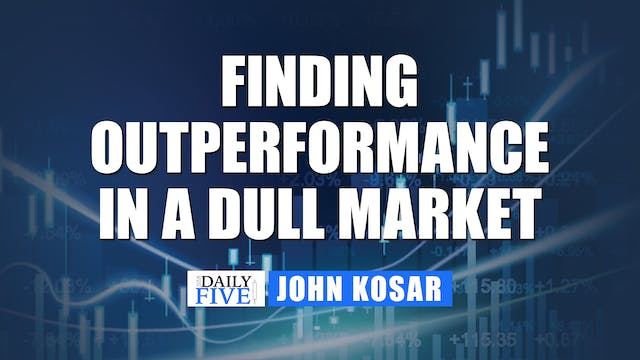 Finding Outperformance In A Dull Mark...