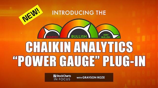 "NEW! Introducing The Chaikin Analytics ""Power Gauge"" Plug-In   Grayson Roze"