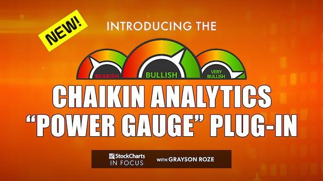 NEW! Introducing The Chaikin Analytic...