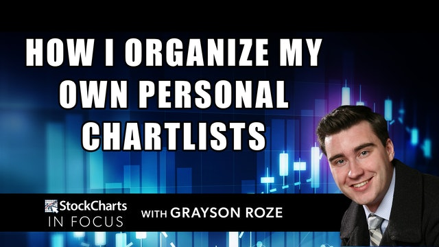 How I Organize My Own Personal ChartLists   Grayson Roze