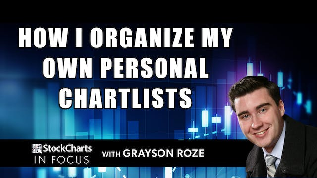 How I Organize My Own Personal ChartL...