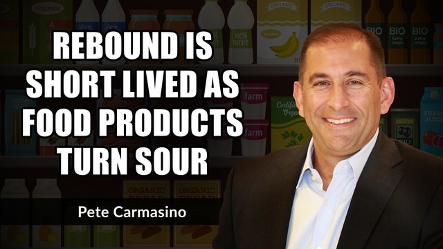 Market Rebound Short Lived As Food Products Turn Sour | Pete Carmasino (09.13)