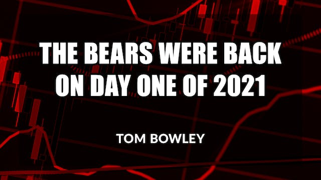 The Bears Were Back on Day 1 of 2021 ...
