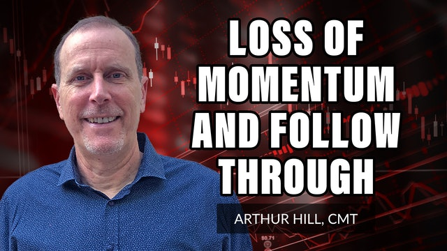 Loss Of Momentum And Lack Of Follow Through | Arthur Hill, CMT (10.14)