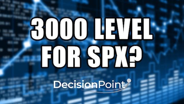 3000 Level for SPX? (11.23)