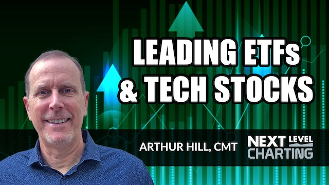 Four Leading ETFs and Two Leading Tech Stocks | Arthur Hill, CMT (03.11)