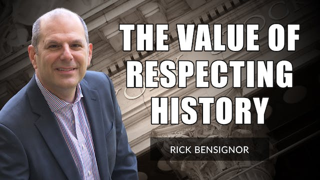 The Value Of Respecting Market Histor...