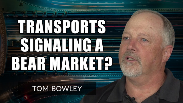 Are Transports Signaling A Bear Market Ahead?   Tom Bowley (09.16)