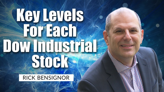 Key Levels For Each Dow Industrial Stock   Rick Bensignor (09.21)
