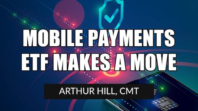 Mobile Payments ETF Makes a Move | Arthur Hill, CMT (04.08)