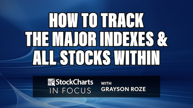 How To Track The Major Indexes And All Stocks Within   Grayson Roze