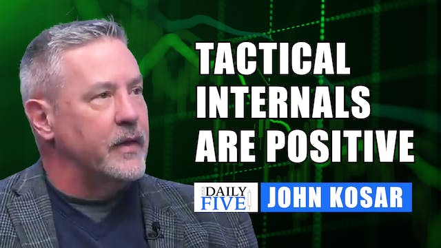Tactical Internals Are Positive | Joh...