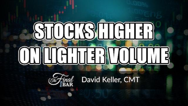Stocks Higher on Lighter Volume   David Keller, CMT (5.28)