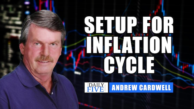 Setup For Inflationary Cycle | Andrew Cardwell (07.15)