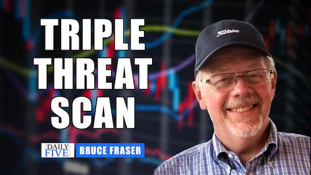 Triple Threat Scan | Bruce Fraser with John Colucci