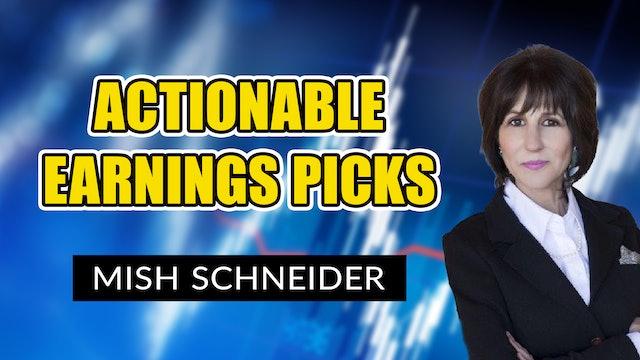 Actionable Earnings Picks | Mish Schneider (02.12)