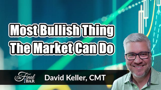 The Most Bullish Thing the Market Can...