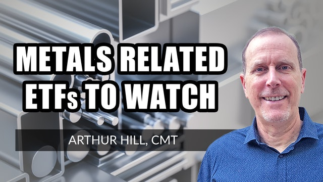 Metals-Related ETFs To Watch | Arthur Hill, CMT (06.17)
