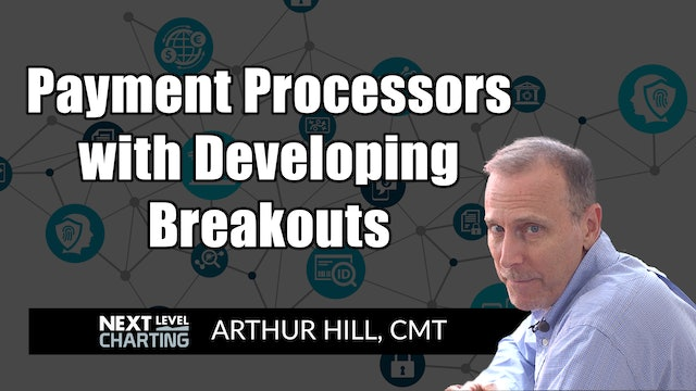 Payment Processors With Developing Breakouts | Arthur Hill, CMT (03.04)
