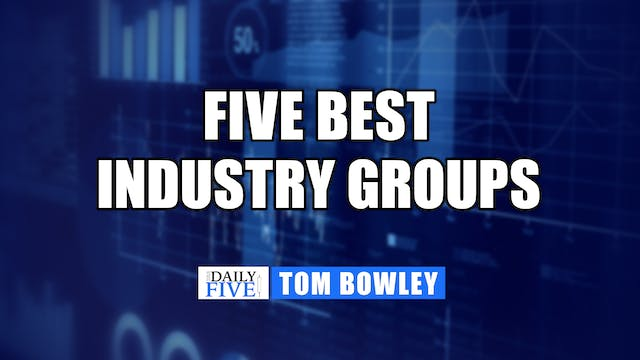 Five Best Industry Groups | Tom Bowle...