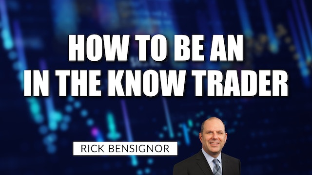 """How To Prepare To Be An """"In The Know"""" Trader 