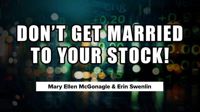Don't Get Married to Your Stock! | Er...