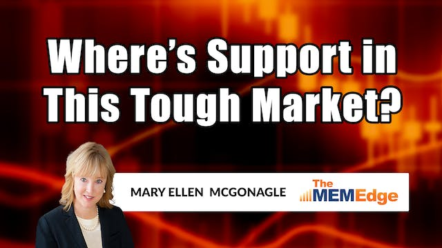 Where's Support In This Tough Market?...
