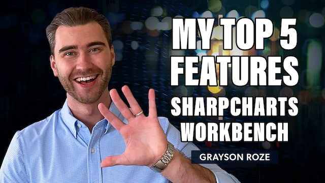 Top 5 Favorite Features of The SharpCharts Workbench   Grayson Roze