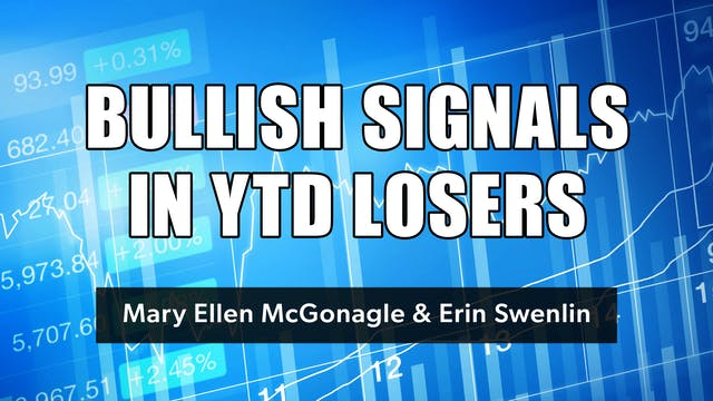 Bullish Signals in YTD Losers | Mary ...