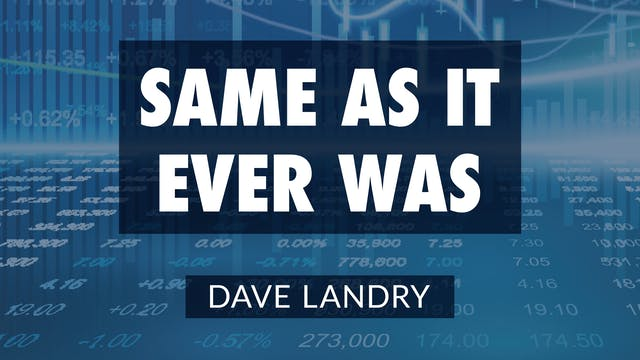 Same As It Ever Was | Dave Landry (03...