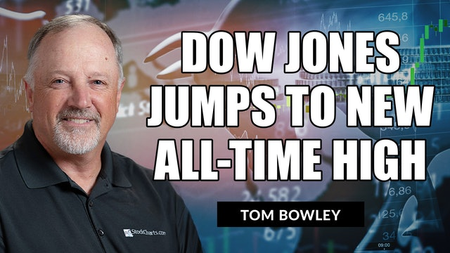 Dow Jones Jumps To Another All-Time High   Tom Bowley (08.12)