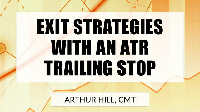 Exit Strategies With An ATR Trailing ...