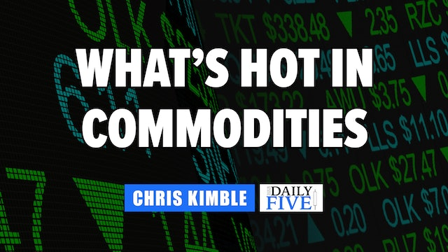 What's Hot in Commodities | Chris Kimble (06.29)