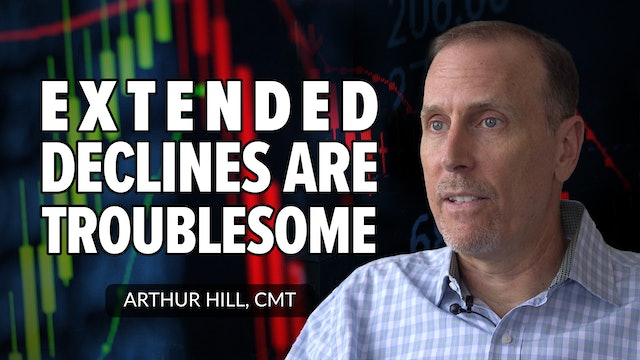 Extended Declines In Key Groups Are Troublesome | Arthur Hill, CMT (10.07)