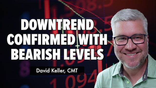 Downtrend Confirmed With A Shift To Bearish Levels | David Keller, CMT (09.30)