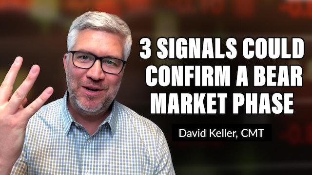 Three Signals That Could Confirm a Bear Market Phase | David Keller, CMT (09.10)