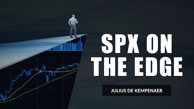 SPX On The Edge | Julius de Kempenaer...