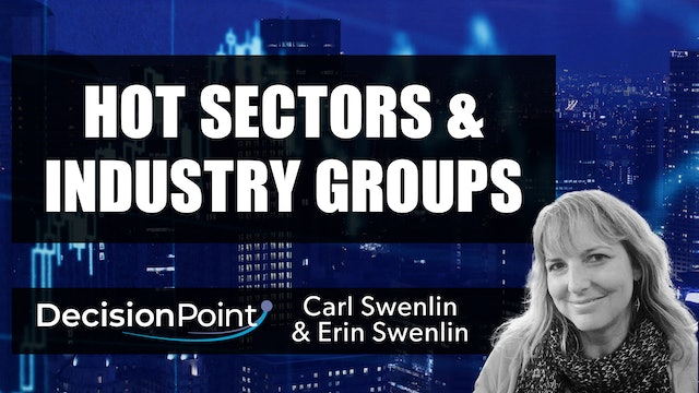 Hot Sectors and Industry Groups | Carl Swenlin & Erin Swenlin (02.22)
