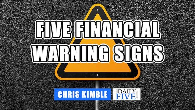 Five Financial Warning Signs | Chris ...
