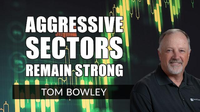 Aggressive Sectors Remain Strong | Tom Bowley (04.13)