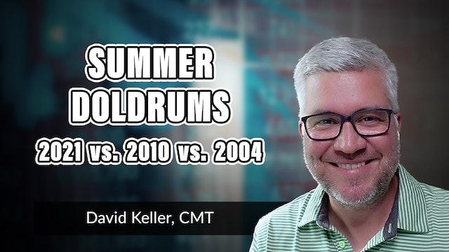 Summer Doldrums: 2021 vs. 2010 vs. 2004 | David Keller, CMT (06.23)