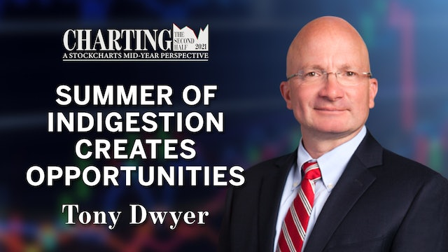 Summer Indigestion Creates Opportunities | Tony Dwyer | Charting the Second Half