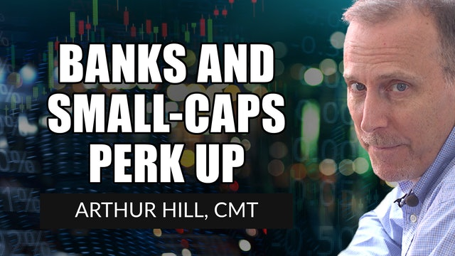 Banks and Small-Caps Perk Up | Arthur Hill, CMT (04.29)