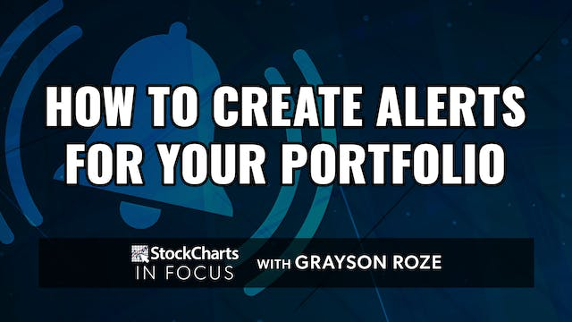 How To Create Alerts For Your Portfol...